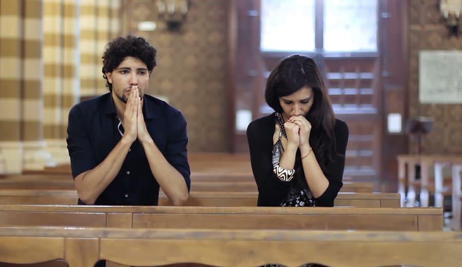 Conquistar uma mulher na igreja (Cristã)