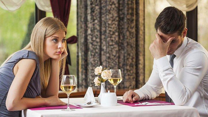 o que não fazer em um encontro