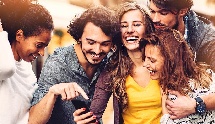 Círculo social aumentar