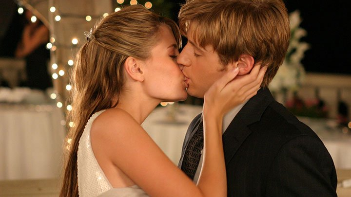 beijar uma garota