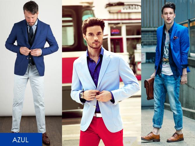 Blazers azuis