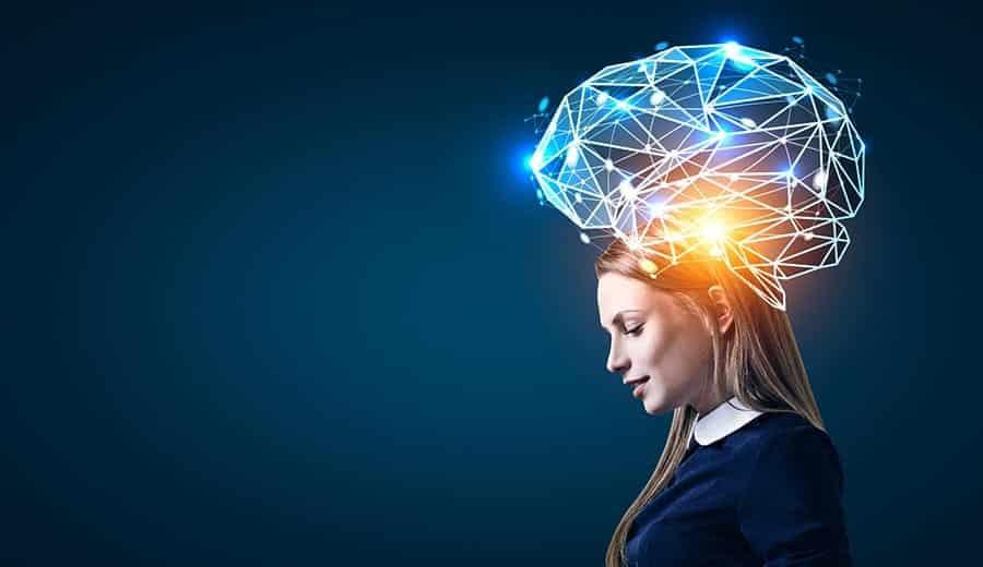 cérebro de mulher