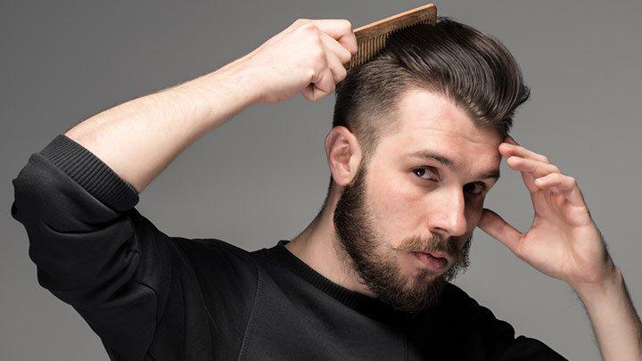 produtos para um penteado